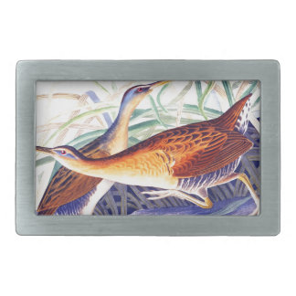 Great Red breasted Rail or Fresh water Marsh Hen Rectangular Belt Buckle