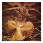 Great Red Dragon and the Woman Clothed with Sun Poster