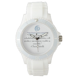 Great Reminder Of Setting Your Priorities. Wrist Watch