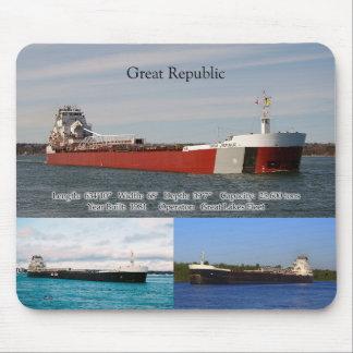 Great Republic 3 picture mousepad