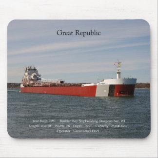 Great Republic mousepad
