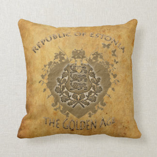 Great Republic Of Estonia Pillow! Throw Pillow