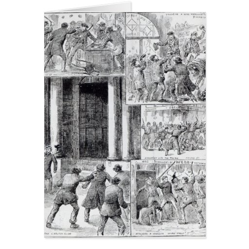Great Riots in London Card