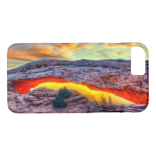 Great Rock Arch Desert Sunset iPhone 8/7 Case