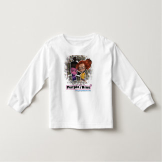 Great role models for girls: Purple and Nine Toddler T-shirt