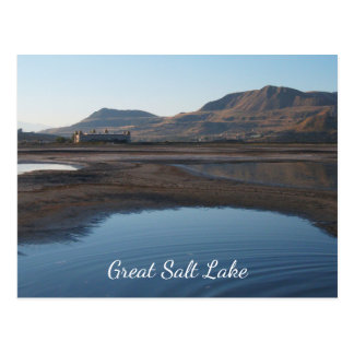 Great Salt Lake, Beach, Saltair Pavillion Postcard