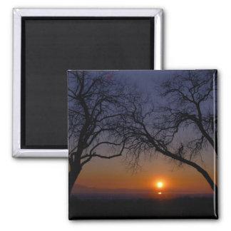 Great Salt Lake Sunset Magnet