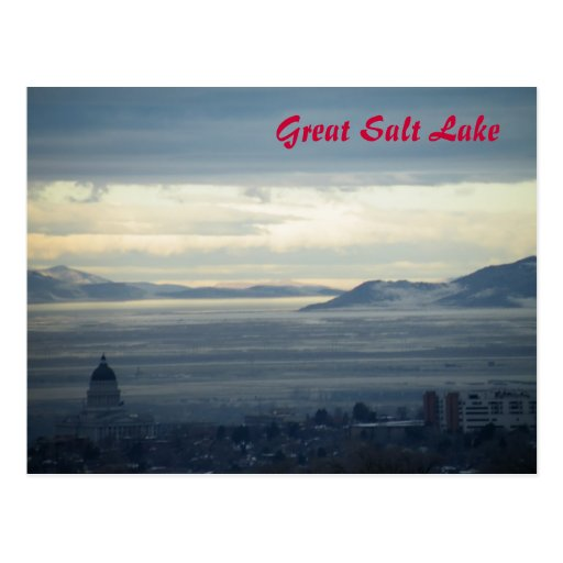 Great Salt Lake Tarjetas Postales