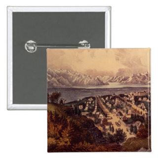 Great Salt Lake, Utah Pinback Button