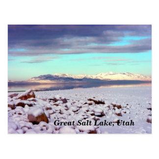 Great Salt Lake, Utah Post Cards