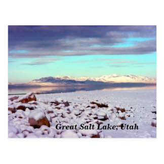 Great Salt Lake, Utah Postcard