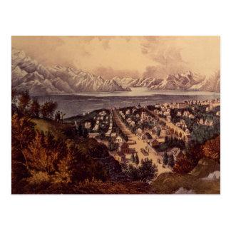 Great Salt Lake, Utah Tarjeta Postal