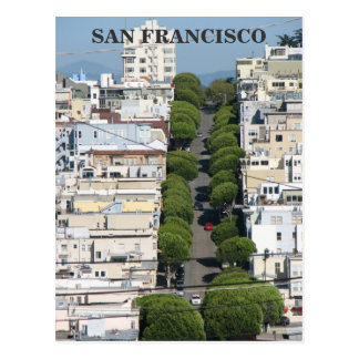 Great San Francisco Postcard! Postcard