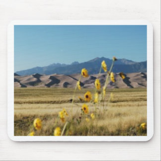 Great Sand Dunes and Flowers Mouse Pad