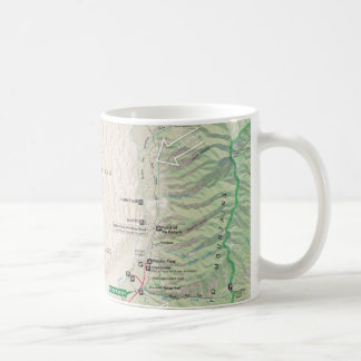 Great Sand Dunes (Colorado) map mug