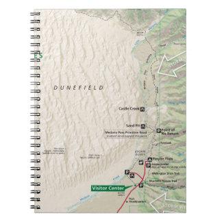 Great Sand Dunes (Colorado) map notebook
