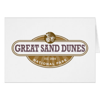 Great Sand Dunes National Park Card