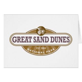 Great Sand Dunes National Park Card