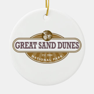 Great Sand Dunes National Park Ceramic Ornament