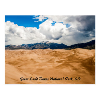 Great Sand Dunes National Park, CO Postcard