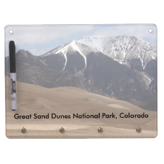 Great Sand Dunes National Park Colorado Dry Erase Board With Keychain Holder