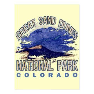 Great Sand Dunes National Park, Colorado Postcard