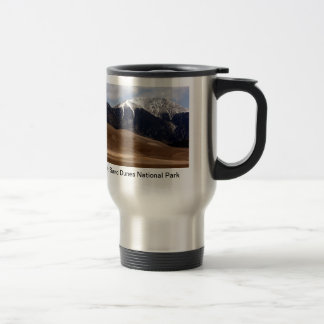 Great Sand Dunes National Park Colorado Travel Mug