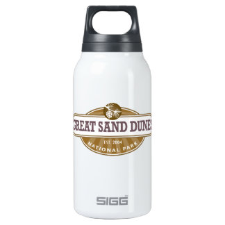 Great Sand Dunes National Park Insulated Water Bottle