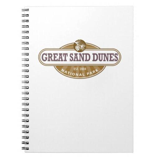 Great Sand Dunes National Park Notebook
