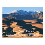 Great Sand Dunes National Park Postcard Postcard