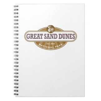Great Sand Dunes National Park Spiral Notebook