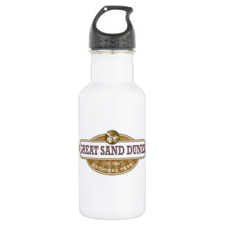 Great Sand Dunes National Park Stainless Steel Water Bottle