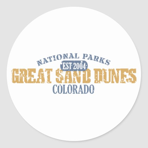 Great Sand Dunes National Park Sticker