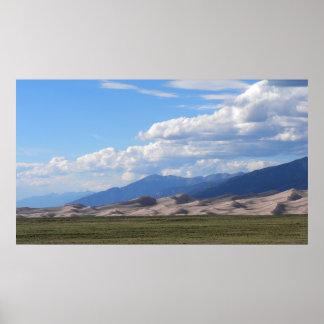 Great Sand Dunes Nat'l Park & Preserve, Colorado Poster