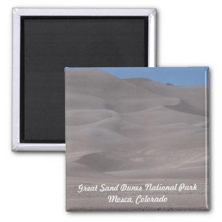 Great Sand Dunes Park Colorado Photo Magnet