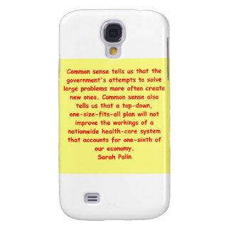great Sarah Palin quote Samsung Galaxy S4 Case