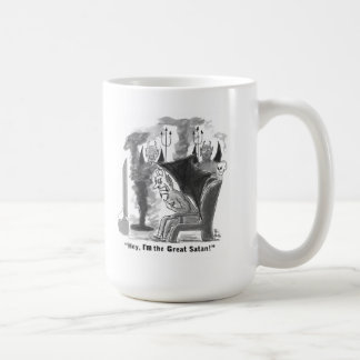 Great Satan straight talk Coffee Mug