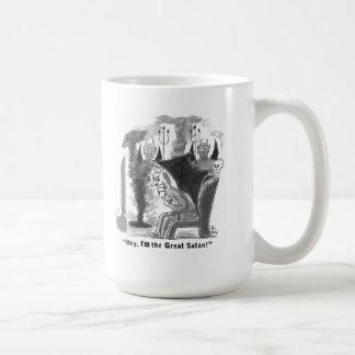 Great Satan straight talk Mugs