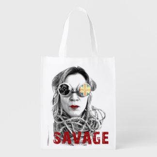 Great Savage Reusable Bag! Grocery Bags
