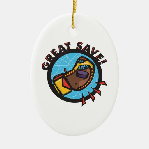 Great Save Double-Sided Oval Ceramic Christmas Ornament