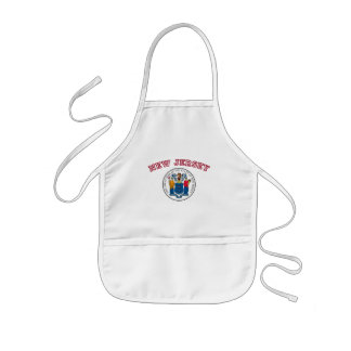 Great Seal of New Jersey Kids' Apron