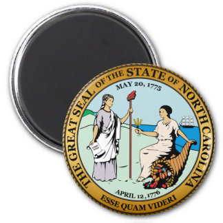 Great seal of North Carolina Magnet