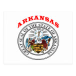 Great Seal Of  State Arkansas Post Cards