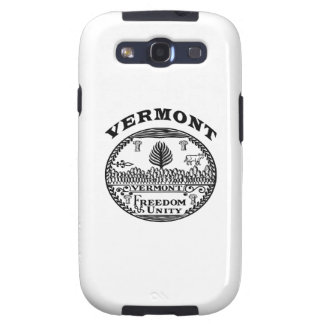 Great Seal Of  State Vermont Galaxy S3 Cases