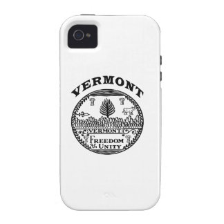 Great Seal Of  State Vermont Case-Mate iPhone 4 Covers