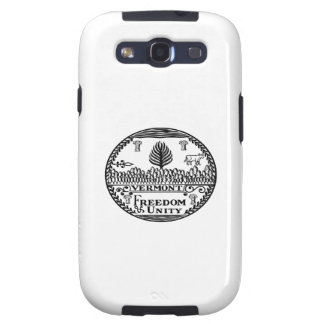 Great Seal Of  State Vermont Galaxy SIII Covers