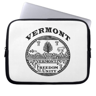 Great Seal Of  State Vermont Computer Sleeve