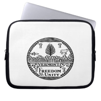Great Seal Of  State Vermont Laptop Sleeve