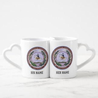 GREAT SEAL of the CONFEDERACY Coffee Mug Set