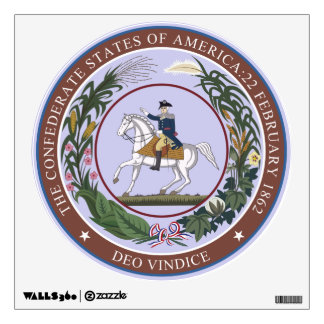 GREAT SEAL of the CONFEDERACY Wall Decal
